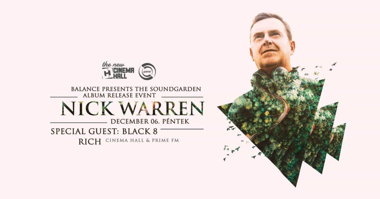 Nick Warren cover